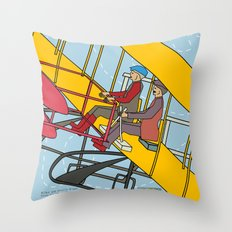 Wilbur and Orville Wright, 1903 Throw Pillow
