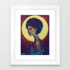 Visionary Passing Framed Art Print