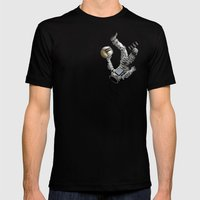 Justice-Planisphere Mens Fitted Tee Black SMALL