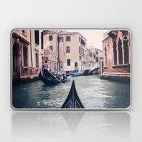 Venice by Gondola Laptop & iPad Skin