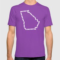 Ride Statewide - Georgia Mens Fitted Tee Ultraviolet SMALL