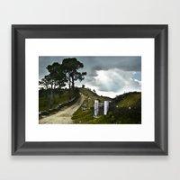Gate To Heaven Framed Art Print