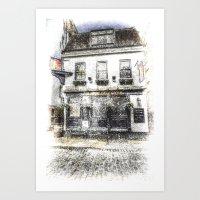 The Mayflower Pub London… Art Print