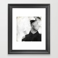 Faceless | number 01 Framed Art Print