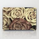 Brown Roses iPad Case
