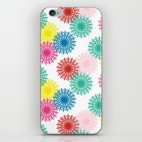 Bright Retro 5 iPhone & iPod Skin