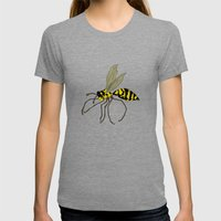 Gnarl Womens Fitted Tee Tri-Grey SMALL