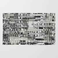 Exploiting Digital Behavior (P/D3 Glitch Collage Studies) Rug