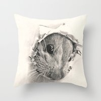 Pickaboo! Throw Pillow