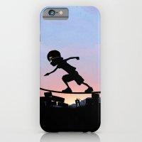 Silver Surfer Kid iPhone 6 Slim Case