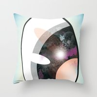 Cartoon Eye Throw Pillow
