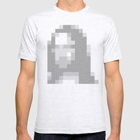 Mosaic Mona Mens Fitted Tee Ash Grey SMALL