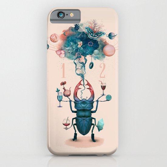 funny beetle iPhone & iPod Case