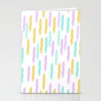 Hello Spring Pastel Patt… Stationery Cards