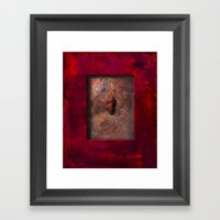Held Tight Framed Art Print