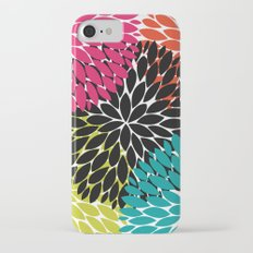Big Tropical Flowers iPhone 7 Slim Case