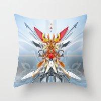 Monark Throw Pillow