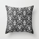 pandamask Throw Pillow