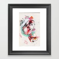 Pulling The Water Down Framed Art Print