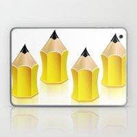 Stylized Pencil Artwork (Vector) Laptop & iPad Skin
