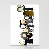 They're Creepy And They'… Stationery Cards