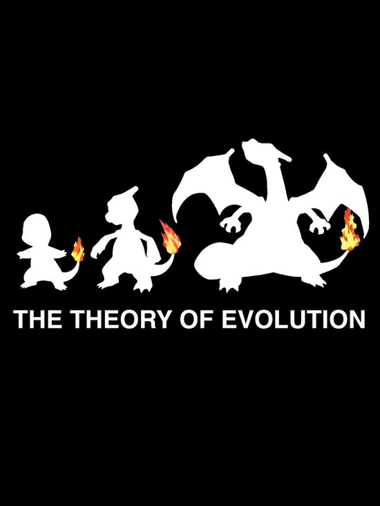 The Theory of Evolution  Canvas Print