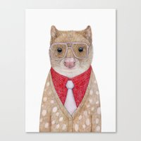 Spotted Quoll Canvas Print