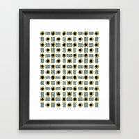 O=O Framed Art Print