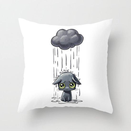 Pouring Throw Pillow