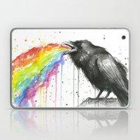 Raven Tastes the Rainbow Laptop & iPad Skin