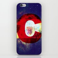 Colorado Flag/Galaxy Print iPhone & iPod Skin