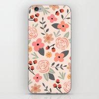 FLOWER FEST iPhone & iPod Skin