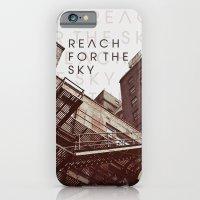 iPhone & iPod Case featuring R E A C H . F O R . T H E . S K Y by LiveLetLive Photography