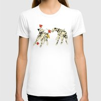 Autumn leaf game Womens Fitted Tee White SMALL