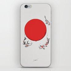 Koi and Sun iPhone & iPod Skin