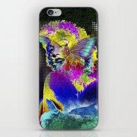 Marilin butterfly dolphin  iPhone & iPod Skin