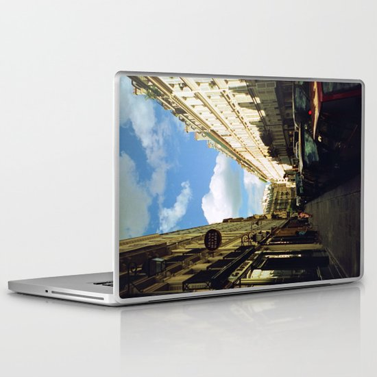 Paris in 35mm Film: Rue Malher in Le Marais Laptop & iPad Skin