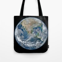 The Blue Marble Tote Bag