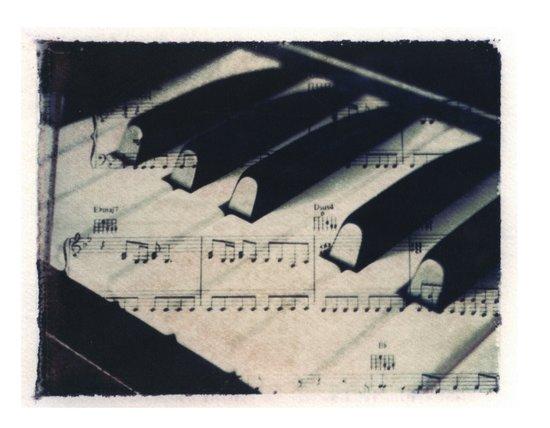 Middle C Art Print