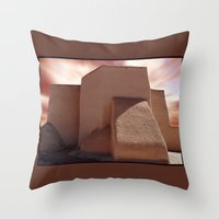 Southwest Adobe Throw Pillow