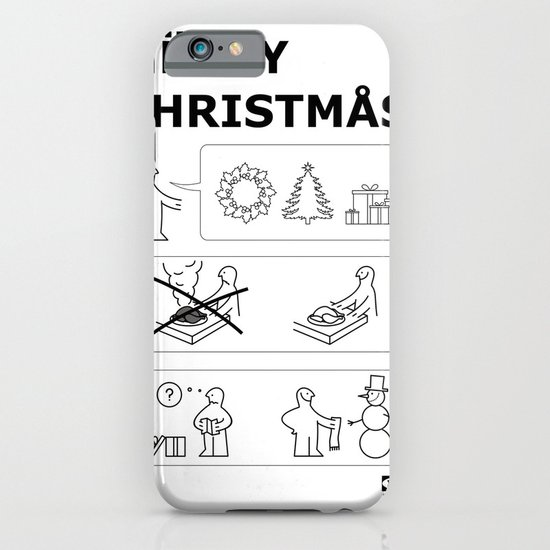 How To Have A Merry Christmas iPhone & iPod Case