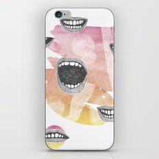 mouths iPhone & iPod Skin