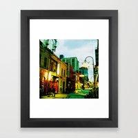 Chinatown Colour Framed Art Print