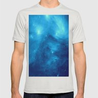 NebUla Mens Fitted Tee Silver SMALL