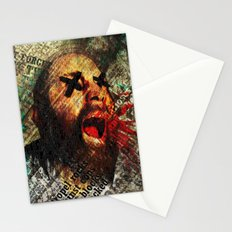 Sage scream Stationery Cards