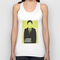 Perks of Being A Wallflower Movie Poster-LIME Unisex Tank Top