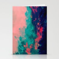 Painted Clouds IV Stationery Cards