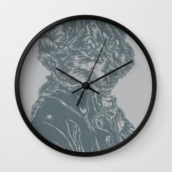 Wolf Amadeus Mozart Wall Clock