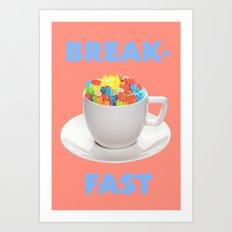 Breakfast Candy Art Print