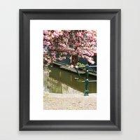Amsterdam Spring Framed Art Print